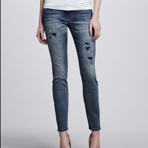 Current/ Elliott the ankle skinny pixie size 27.